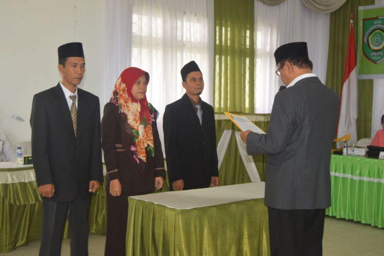 Pelantikan Pembantu Ketua Periode 2018-2022